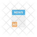 Press Newspaper Ads Icon