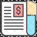 Newspaper Document File Icon