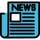 Newspaper News Media Icon