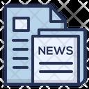 News Newspaper Read Icon