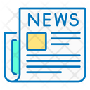 Newspaper News Events Icon