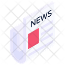 Newspaper Journal Paper Icon