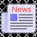 Journal Newspaper Gazette Icon