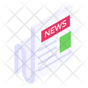 Newspaper Journal News Reading Icon