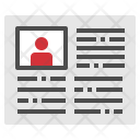Newspaper News Book Icon