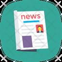Newspaper News Print Icon