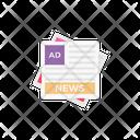 Ads News Advertisement Icon