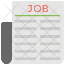 Newspaper Jobs Icon