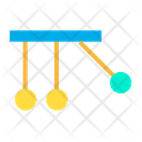 Cradle Momentum Newtons Invention Icon