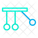 Cradle Momentum Newtons Invention Icon
