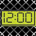 Time Clock Twelve Icon