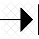Solid Style Next Arrow Icon