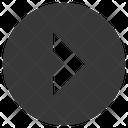 Arrow Circled Direction Icon