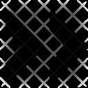 Double Next Arrow Icon