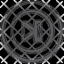 Next Forward Direction Arrow Icon