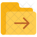 Next Folder Data Icon