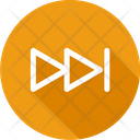 Next Track Multimedia Button Forward Arrow Icon