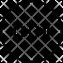 Next Track Multimedia Button Forward Arrow Icon