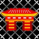 Nezu Shrine Tokyo City Icon