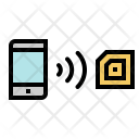 Nfc Wireless Smartphone Icon