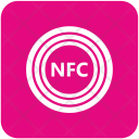 Nfc Chip Payment Icon