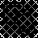 Nfc Square Tag Icon