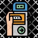 Nfc Gate Pass Icon