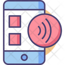 Nfc Technologycontactless Device Nfc Icon