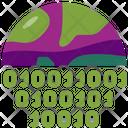 Nft Binary Icon