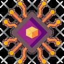 Nft Blockchain Icon