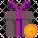 Nft Gift Icon