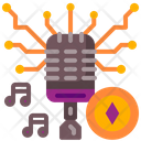 Nft Microphone Icon