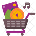 Nft Shopping Cart Icon