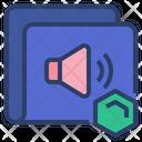 Nft Volume Nft Speaker Audio Icon