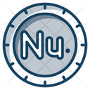 Ngultrum Coins Currency Coin Icon