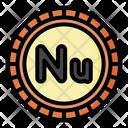 Ngultrum Bhutan Currency Icon