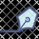 Nib Stationery Write Icon