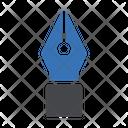 Pen Nib Stationary Icon