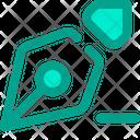 Pen Nib Edit Icon
