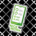Sticker Nice Work Work Icon