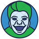 Nicholson Joker Jester Cartoon Character Icon