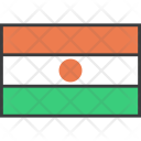 Niger African Country Icon