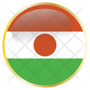 Niger Country Flag Icon