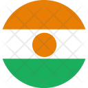 Niger Flag World Icon
