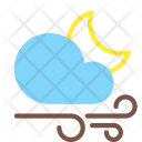 Night Gusts Wind Icon