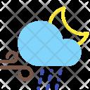 Night Sleet Wind Icon