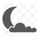Night Weather Climate Icon