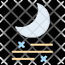 Night Moon Fog Icon