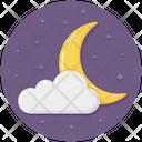 Night Night Time Night Sky Icon