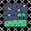 Night Sky Star Icon
